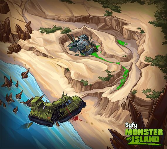 Beach - Monster Island