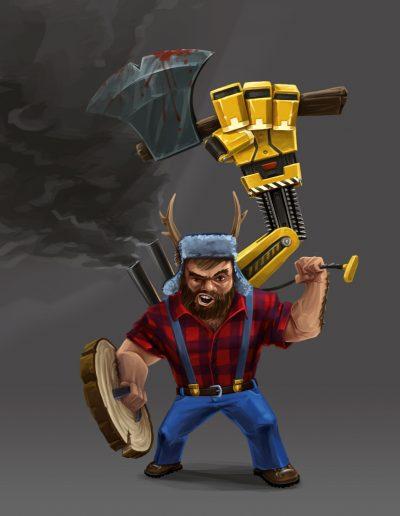 Dwarf: Lumberjack Skin