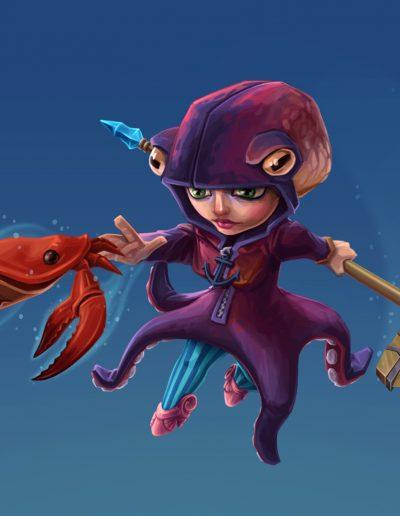 Gnome: Aquatic Skin