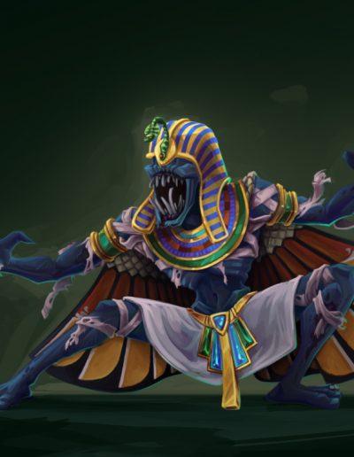 Hand Goblin: Mummy Skin
