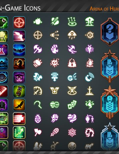 Arena of Heroes Icons