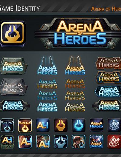 Arena of Heroes Logos