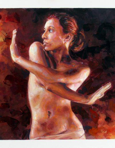 Woman Speed Paint